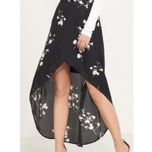 Dynamite Jupe High Low Wrap Skirt